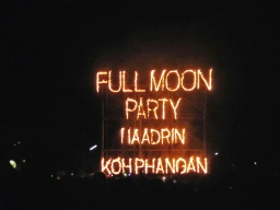 Full Moon Party en Thaïlande (J'ai re-perdu Richard)