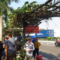 Les douanes cambodgiennes