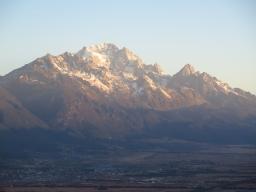 Neige éternelle à Lijiang